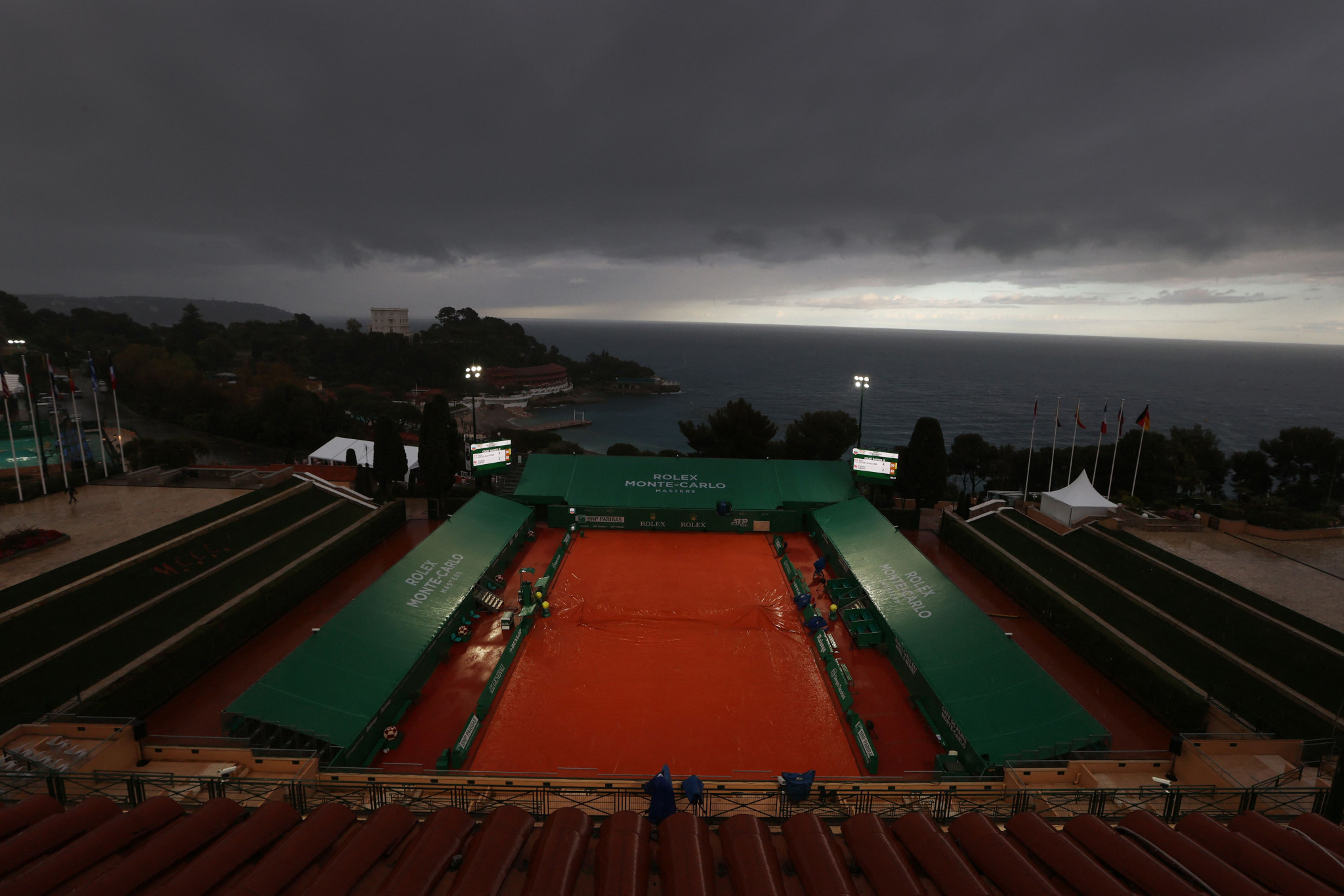 Only four matches were completed due to rain ©Getty Images