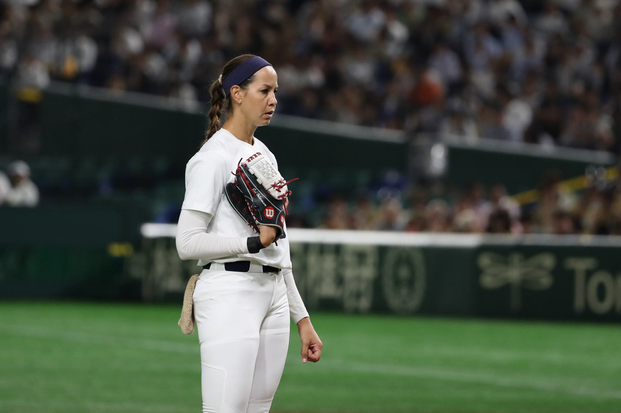 Cat Osterman will attempt to win a second Olympic gold medal at Tokyo 2020 - 17 years after her first ©Getty Images
