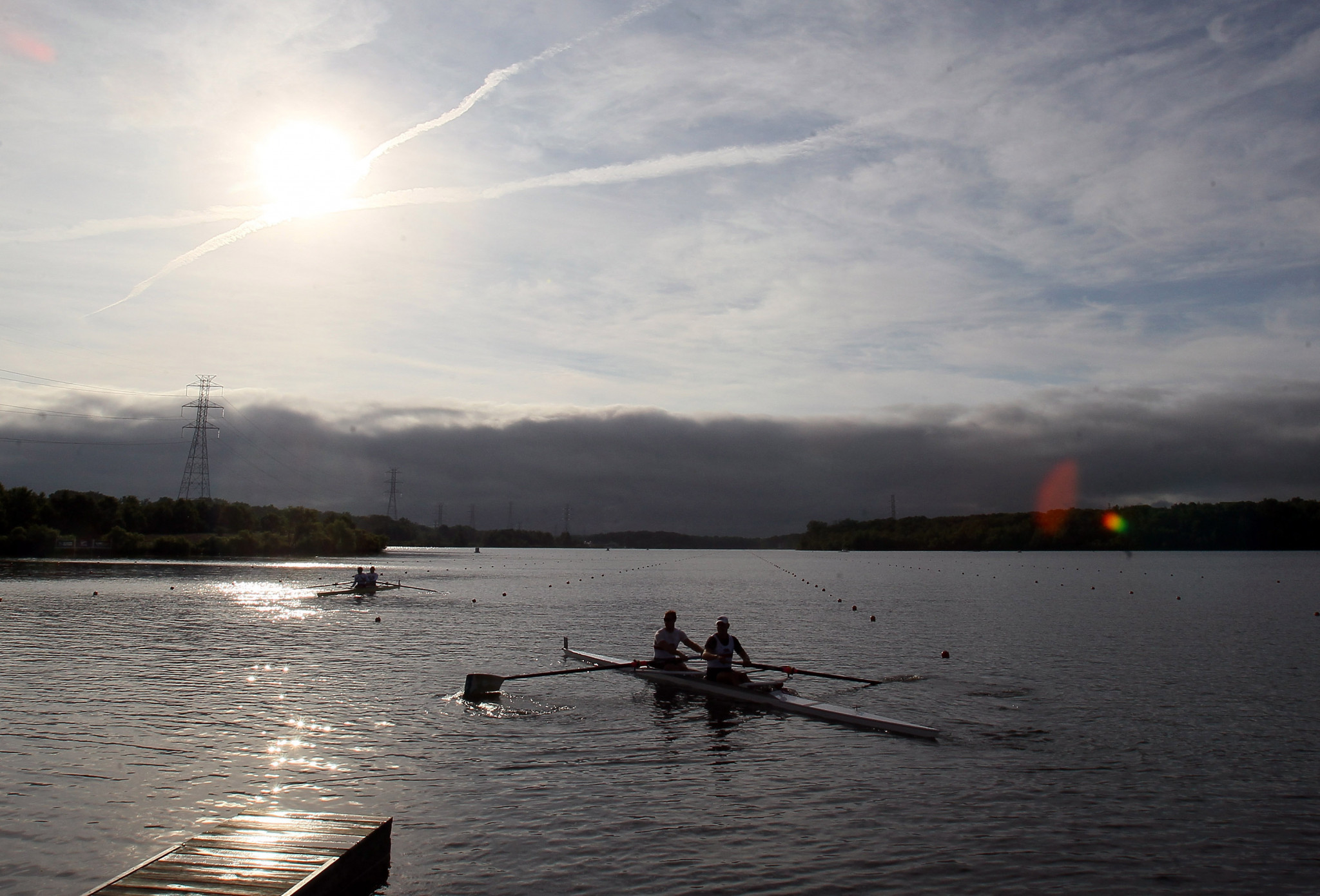 Second US Olympic and Paralympic rowing trials underway