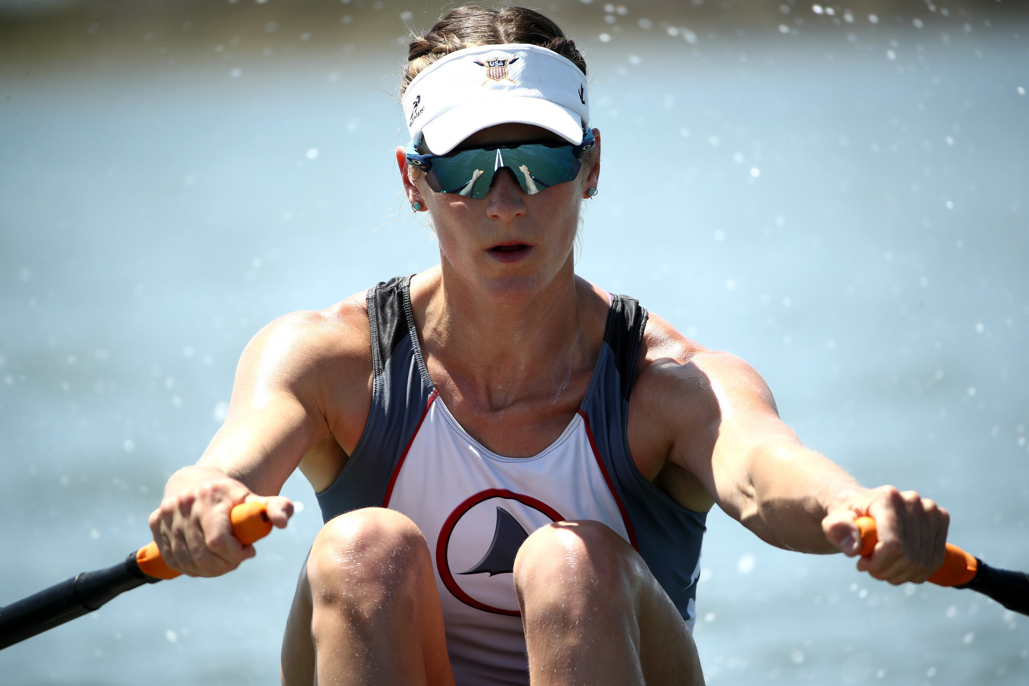 Kara Kohler, in the women's single sculls, is the only American rowing to have booked their spot at Tokyo 2020 before the second set of trials ©Getty Images