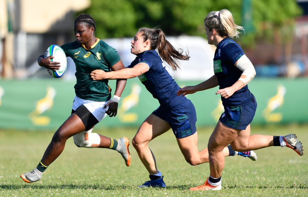 South Africa will participate in the next women's Rugby World Cup in New Zealand in 2022 as the profile of women's sport continues to rise steeply on the African continent ©Getty Images