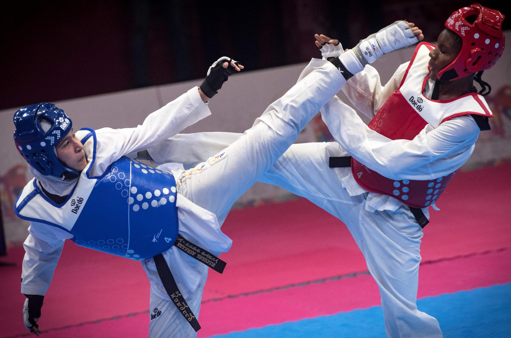 Kenyan taekwondo star urges athletes to combat climate change