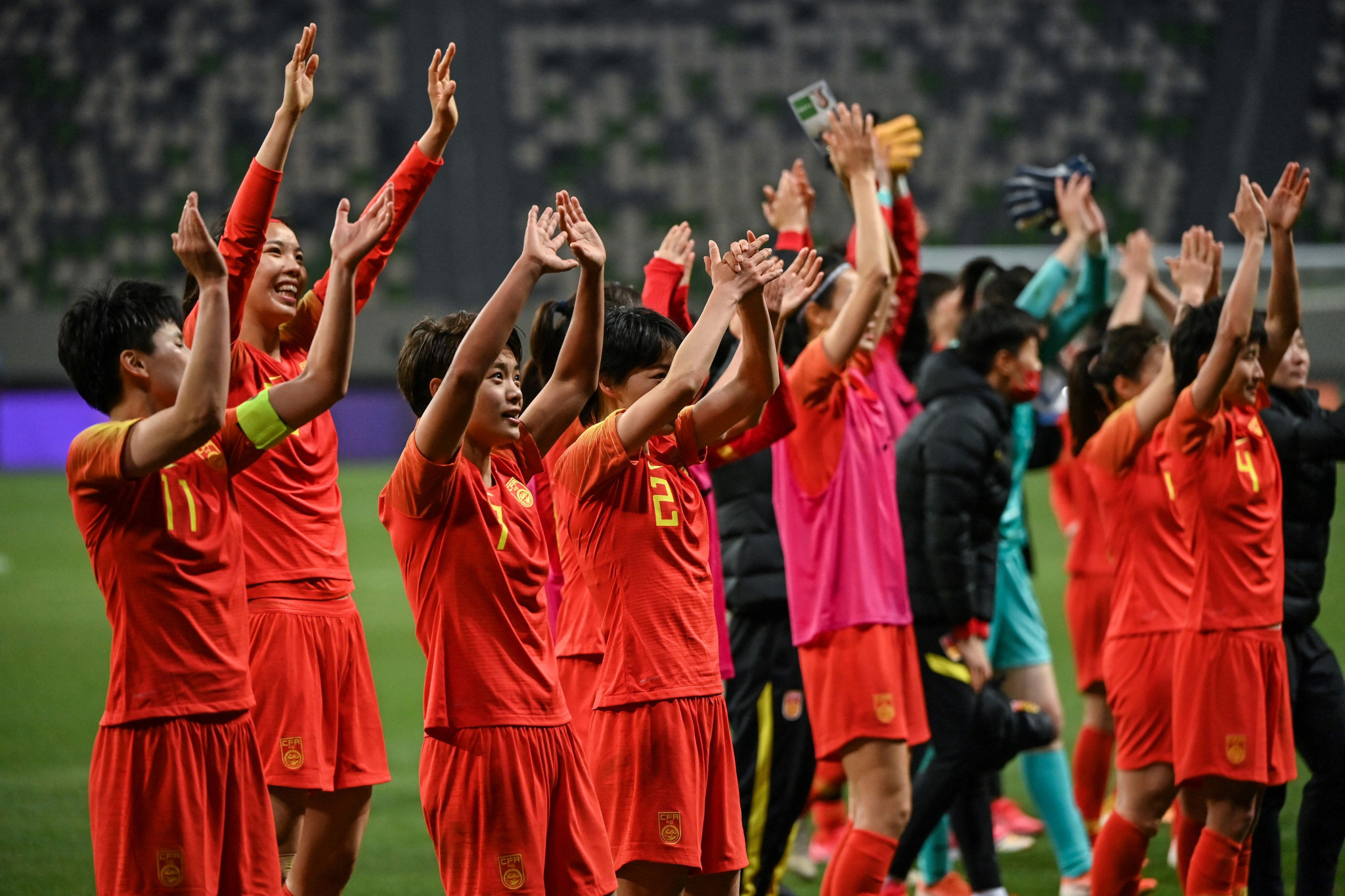 China claim final Asian place in women's Tokyo 2020 football tournament after extra-time triumph over South Korea