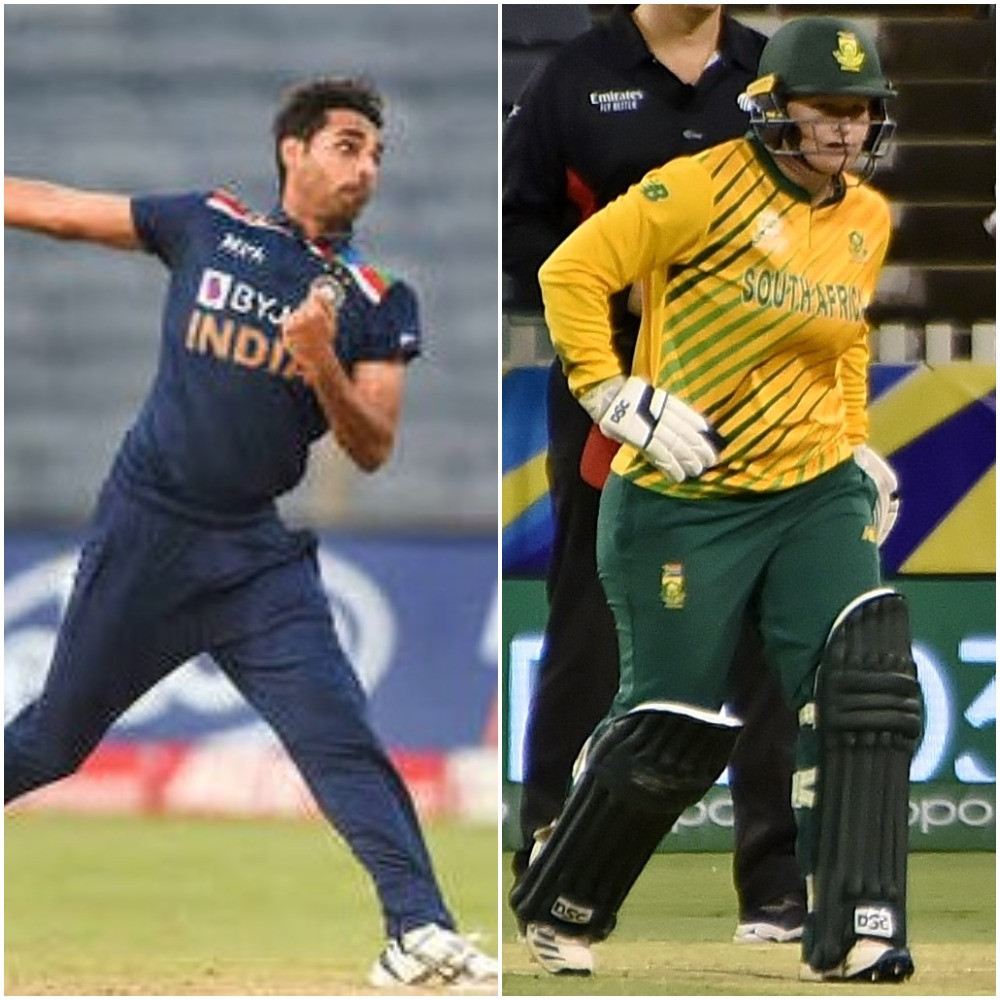 Kumar and Lee voted ICC Players of the Month for March