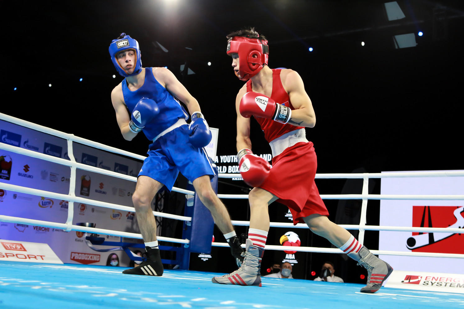 Action started after the Opening Ceremony ©AIBA