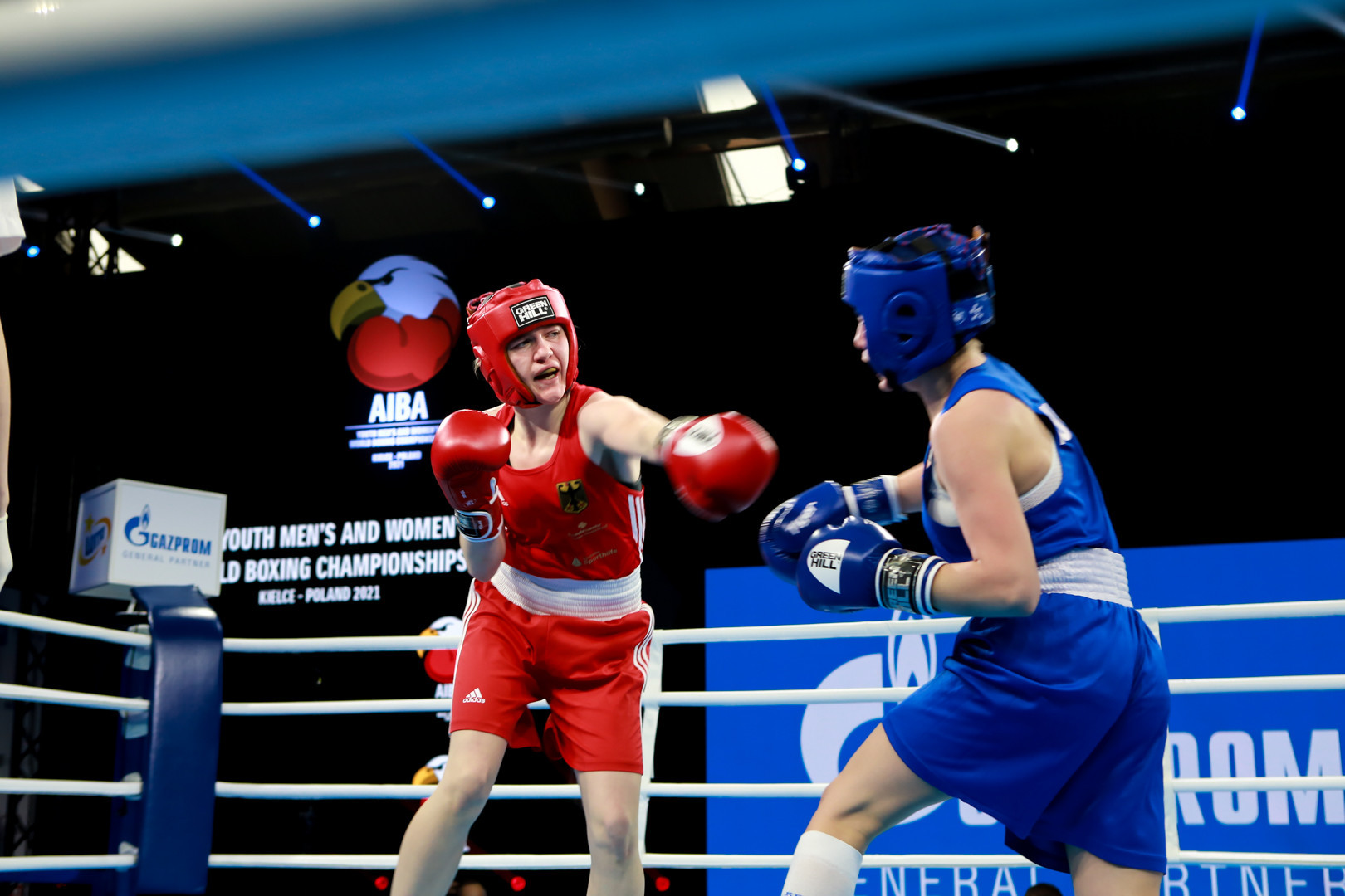 The Championships are taking place behind closed doors because of the coronavirus pandemic ©AIBA