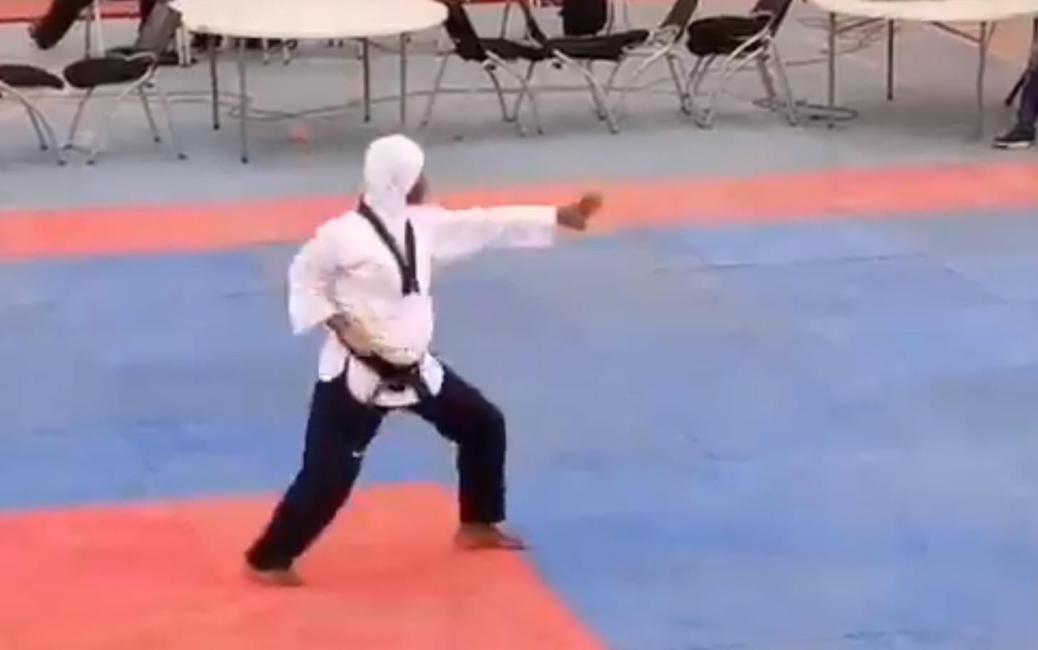 Heavily pregnant Idrees wins taekwondo gold at Nigerian National Sports Festival