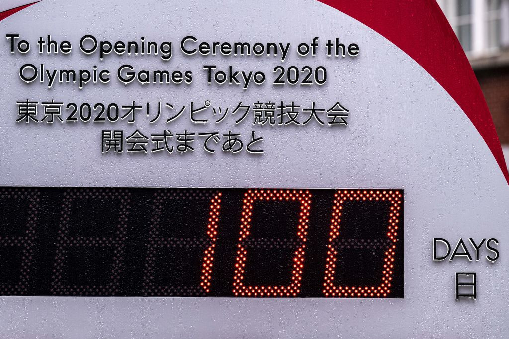 Today marks 100 days to go until the rescheduled Tokyo 2020 Olympics are due to open ©Getty Images
