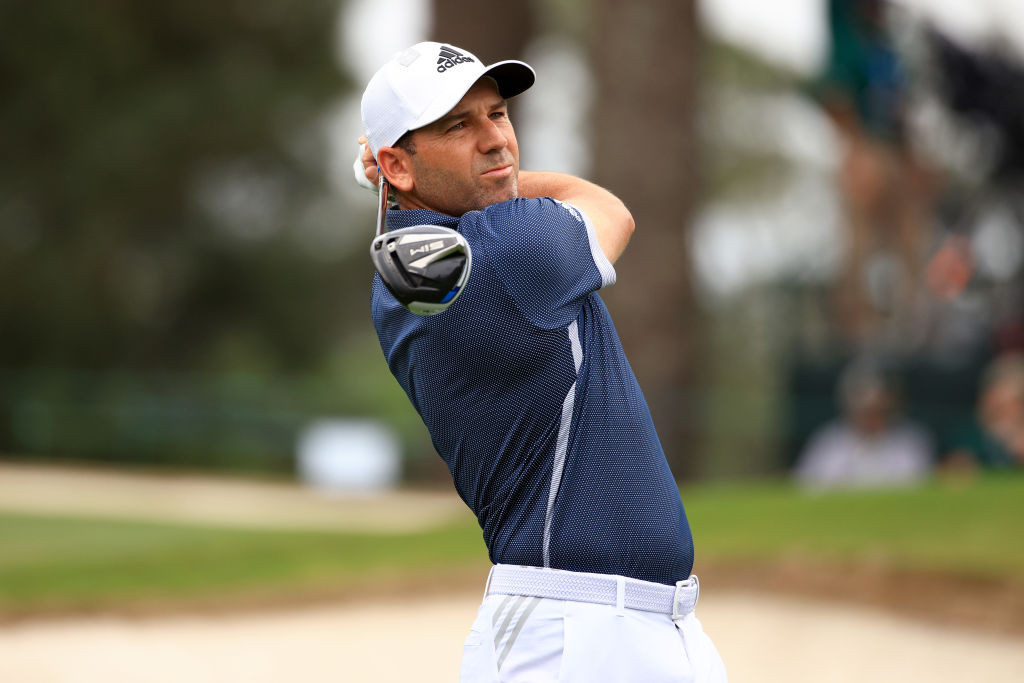 Spaniard Sergio Garcia is among the high-profile golfers to have tested positive for COVID-19 ©Getty Images