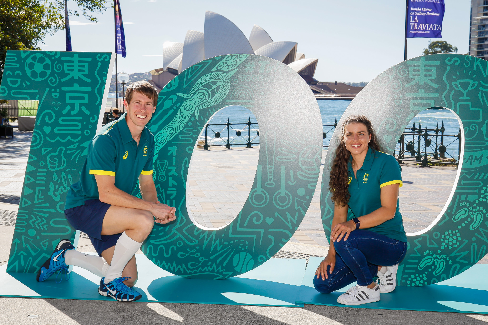 The Australian Olympic Committee marked 100 days until the start of Tokyo 2020 with the announcement of several live sites across the country ©AOC