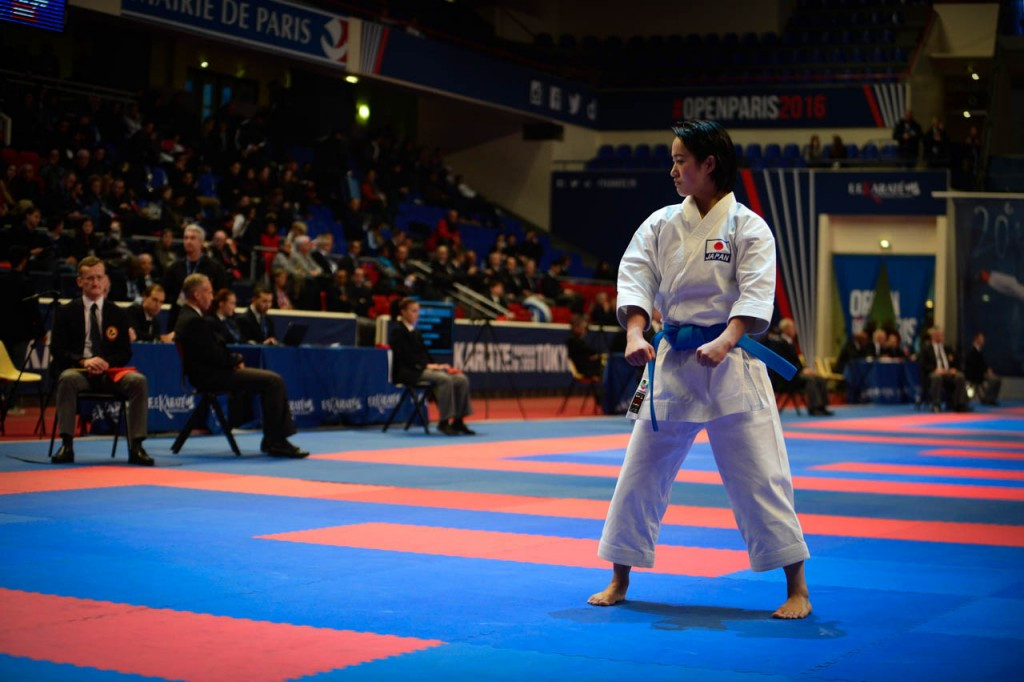 Kata world champions through to gold medal contests at Paris Open