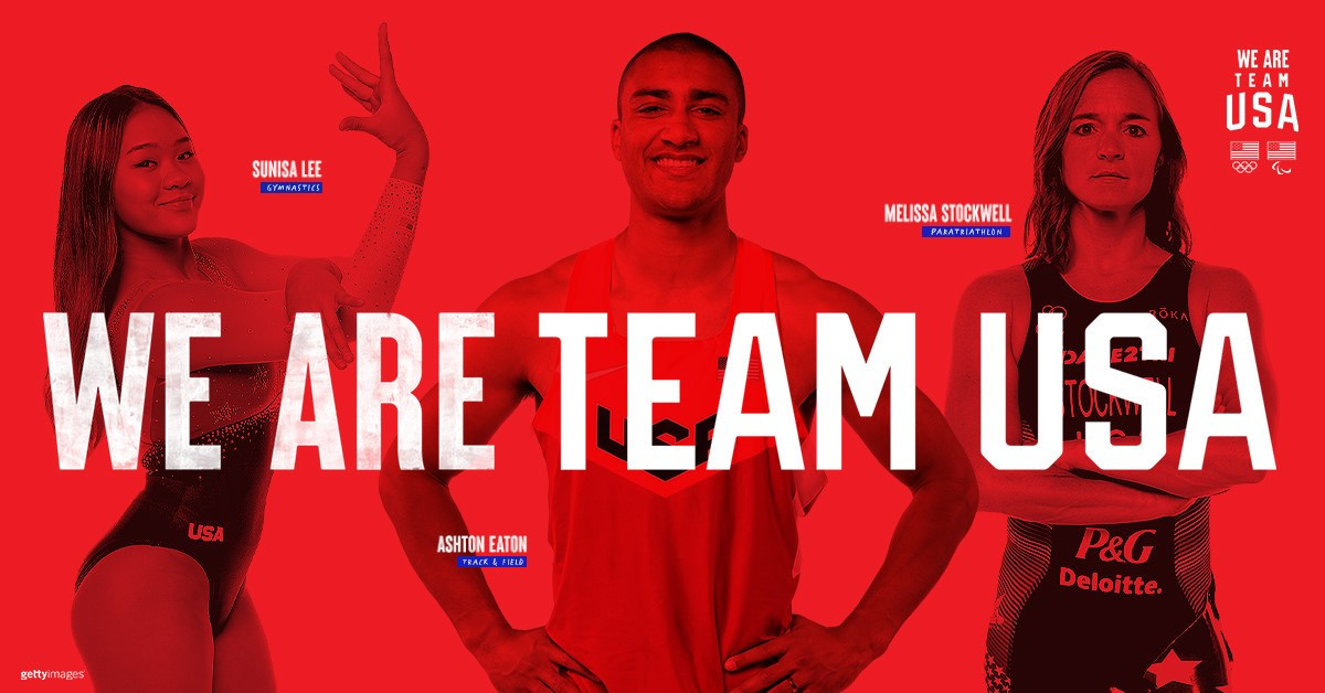 "New ""We Are Team USA"" campaign celebrates diversity of Olympic and Paralympic teams"