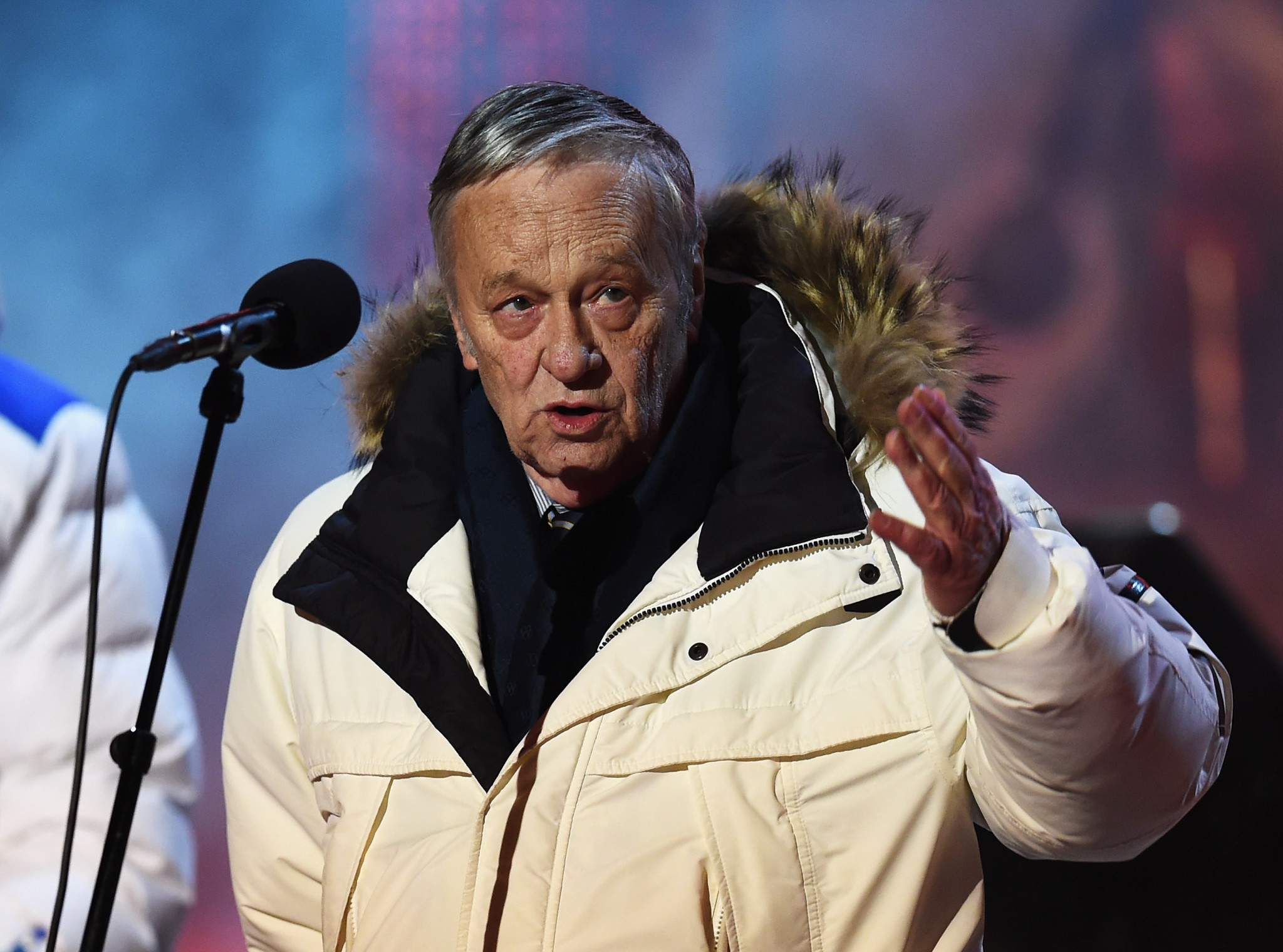 Gian-Franco Kasper is set to step down as FIS President after 22 years in charge ©Getty Images