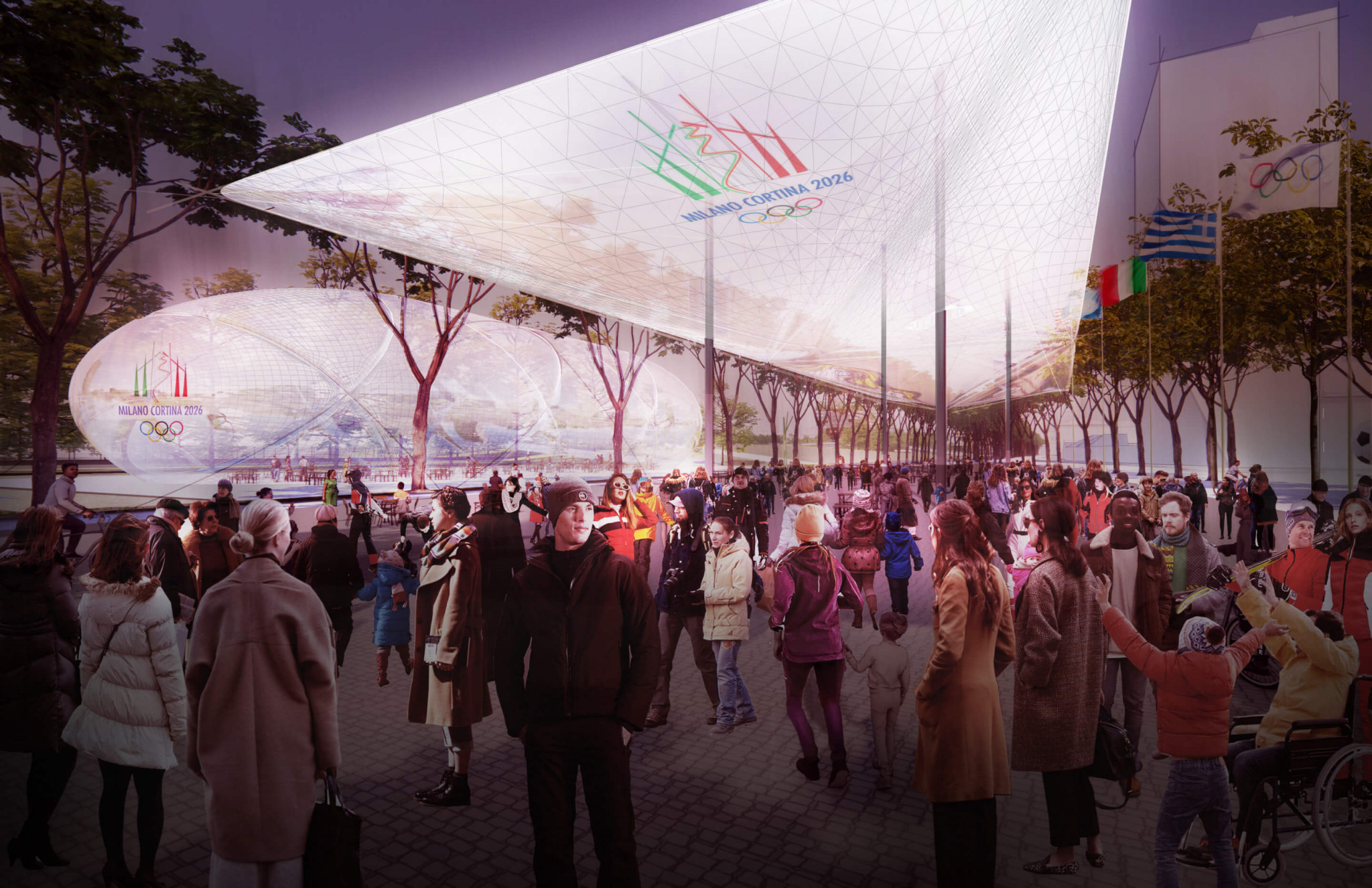 An consortium to masterplan the Olympic Village for Milan Cortina 2026 has been announced ©PLP Architecture