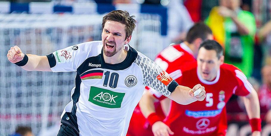 Germany beat Hungary to keep semi-final dreams alive at European Men's Handball Championship