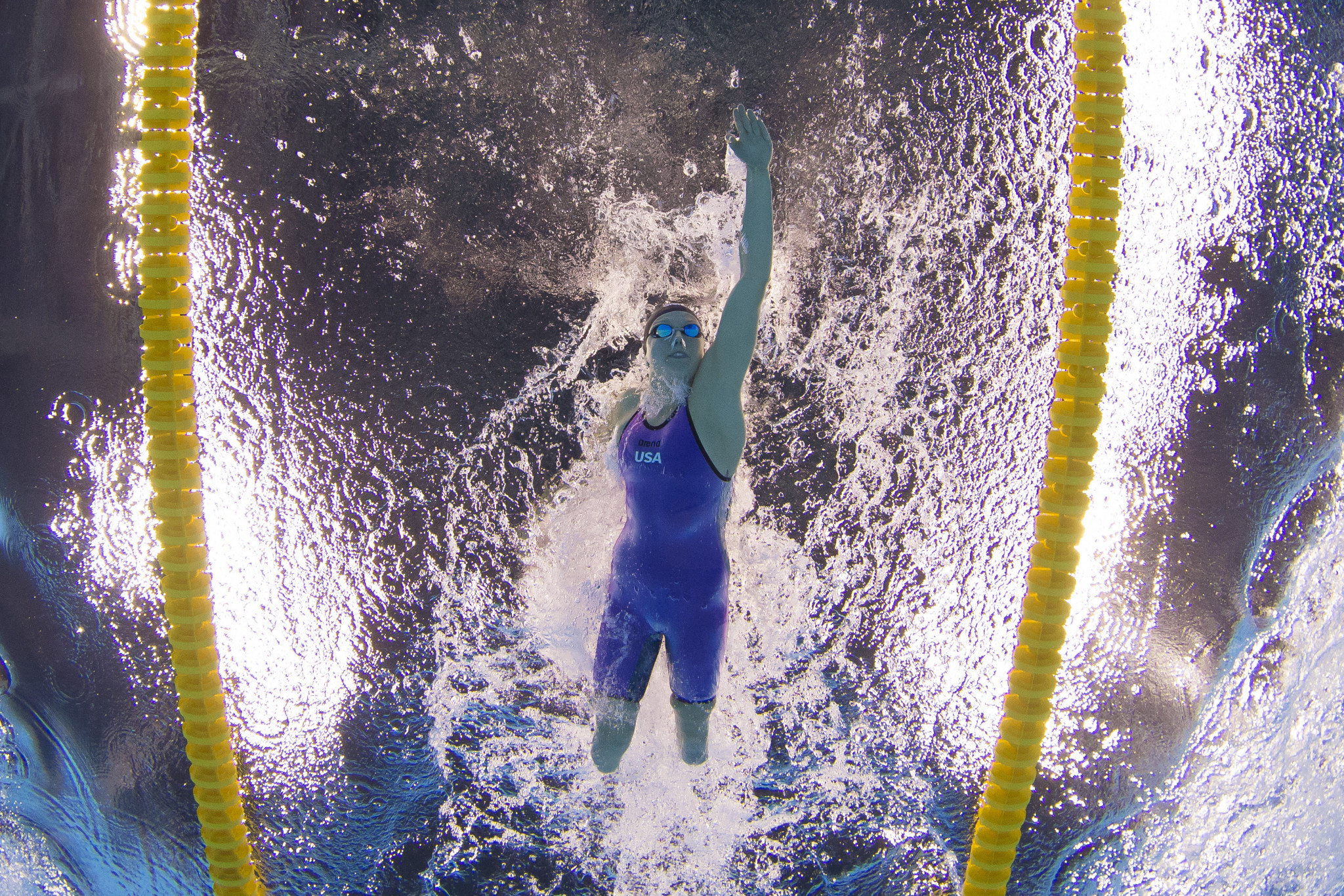 The 13-time Paralympic gold medallist Jessica Long will lead the United States team at the World Para Swimming World Series event in Lewisville ©Getty Images