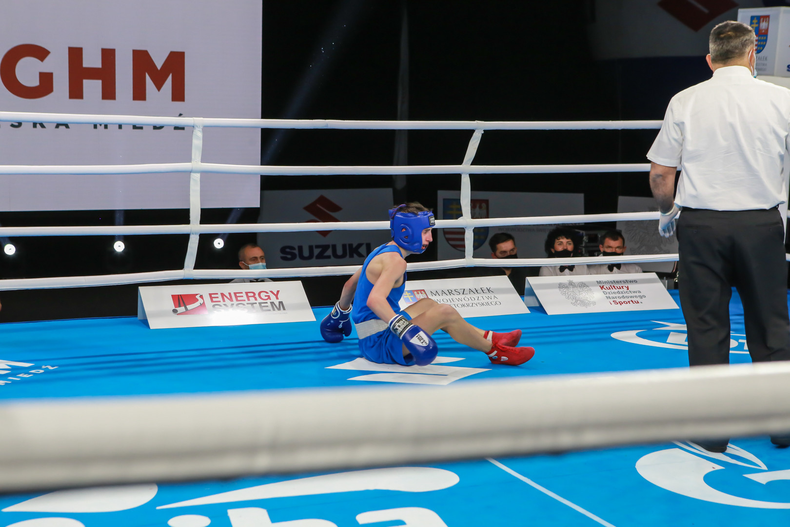 For some competitors, their dreams of glory ended suddenly ©AIBA