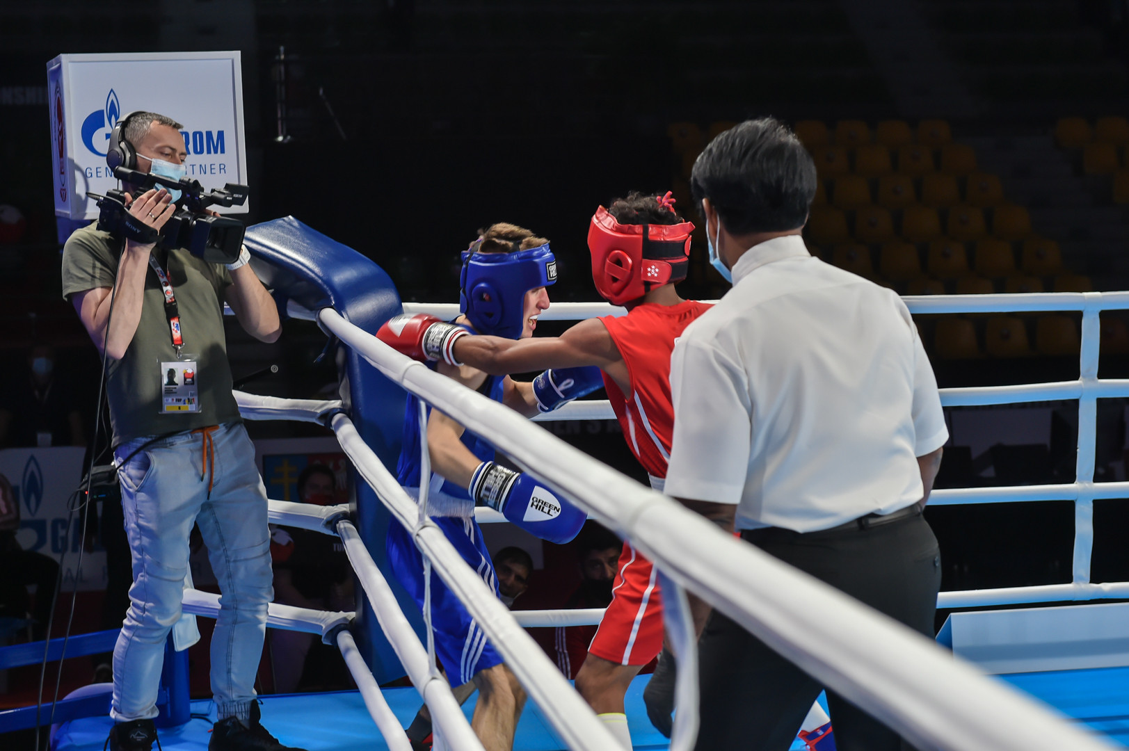The Championships are being televised around the world ©AIBA