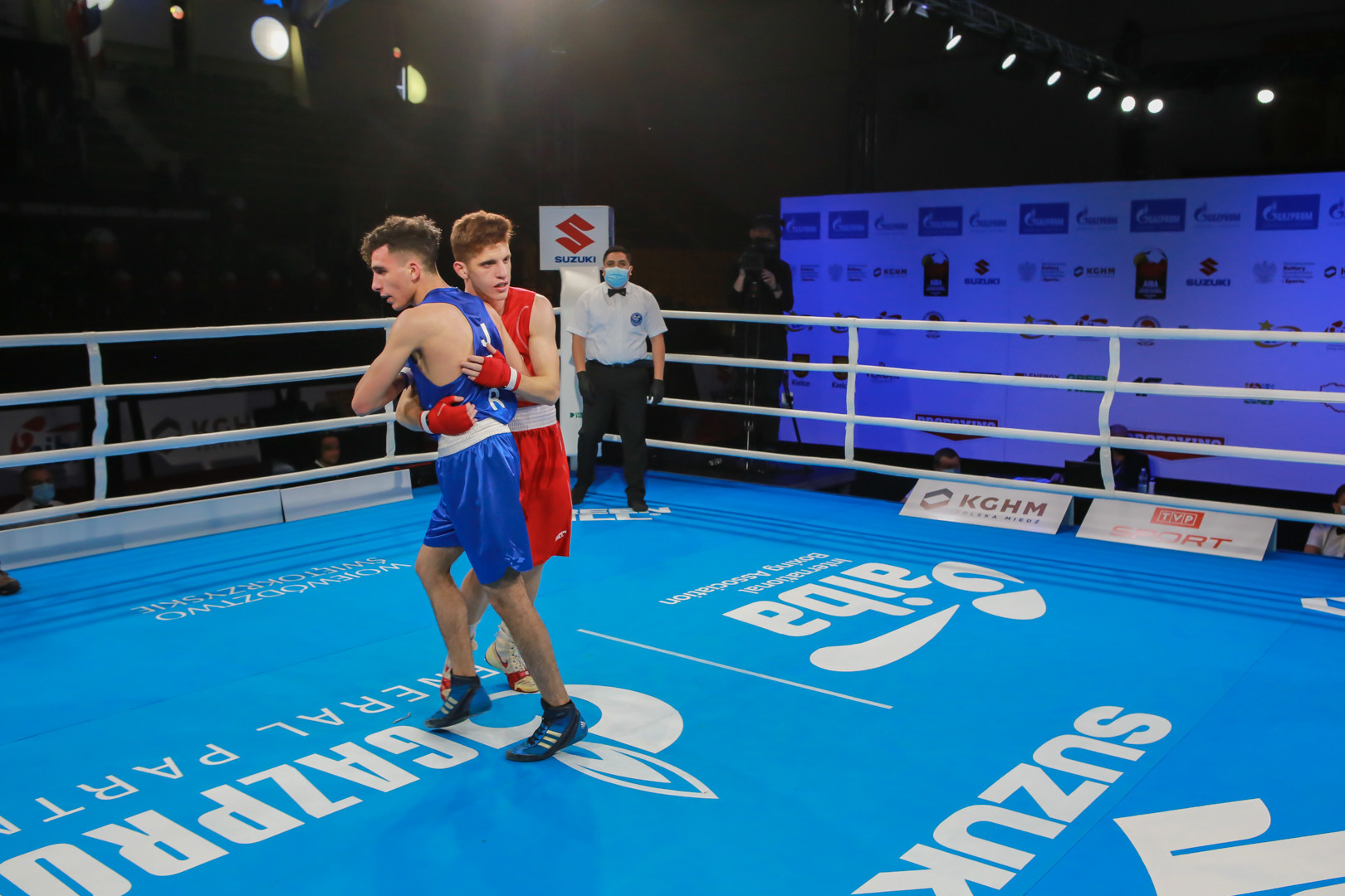 There is plenty of good sportsmanship on display at the Championships ©AIBA