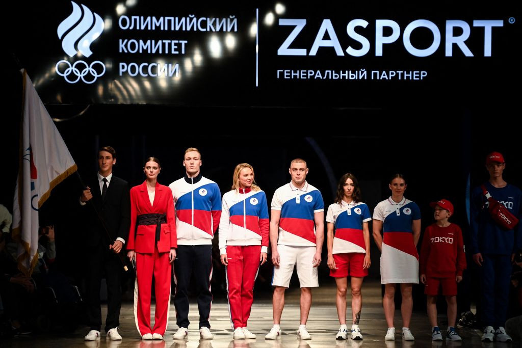"Uniforms for ""neutral"" Russian team at Tokyo 2020 Olympic Games unveiled"