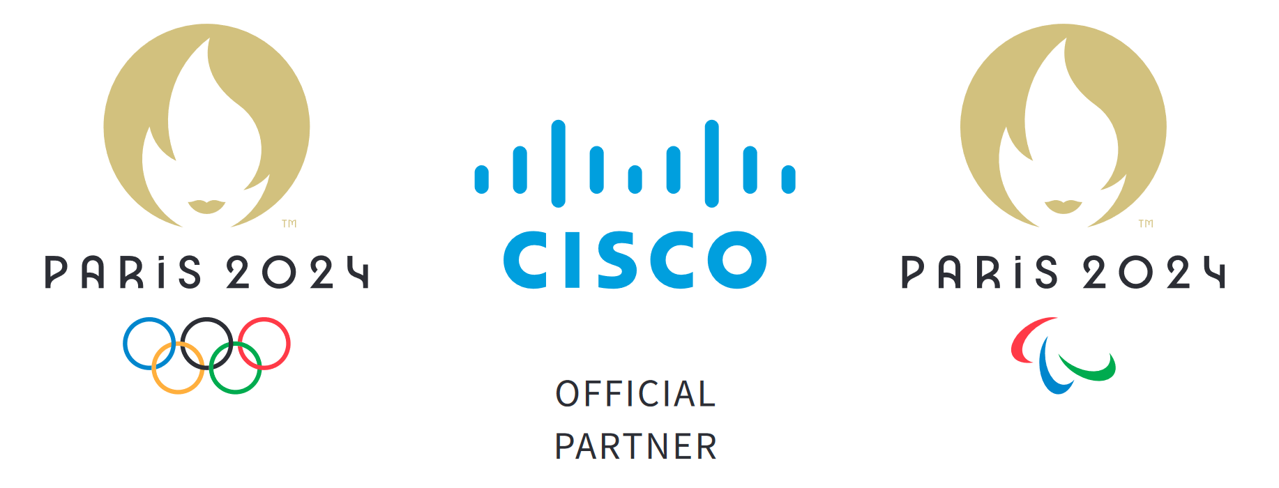 Cisco has become an official partner of Paris 2024 ©Paris 2024