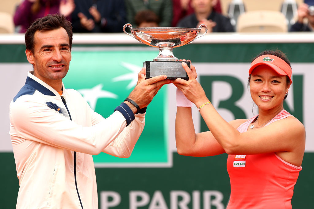 Latisha Chan of Chinese Taipei and Croatia's Ivan Dodig are the two-time defending French Open mixed doubles champions ©Getty Images