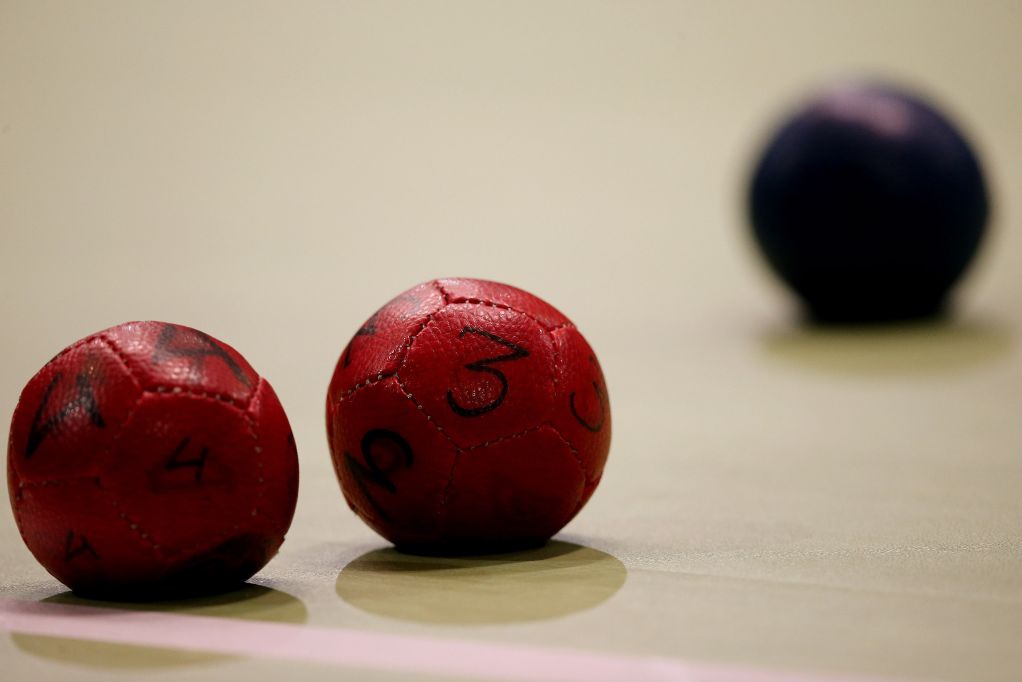 Despite a protest petition numbering more than 2,000 signatures, BISFed is going ahead with a plan to license production of boccia balls at international level following widespread instances of them being manipulated for unfair advantage ©BISFed