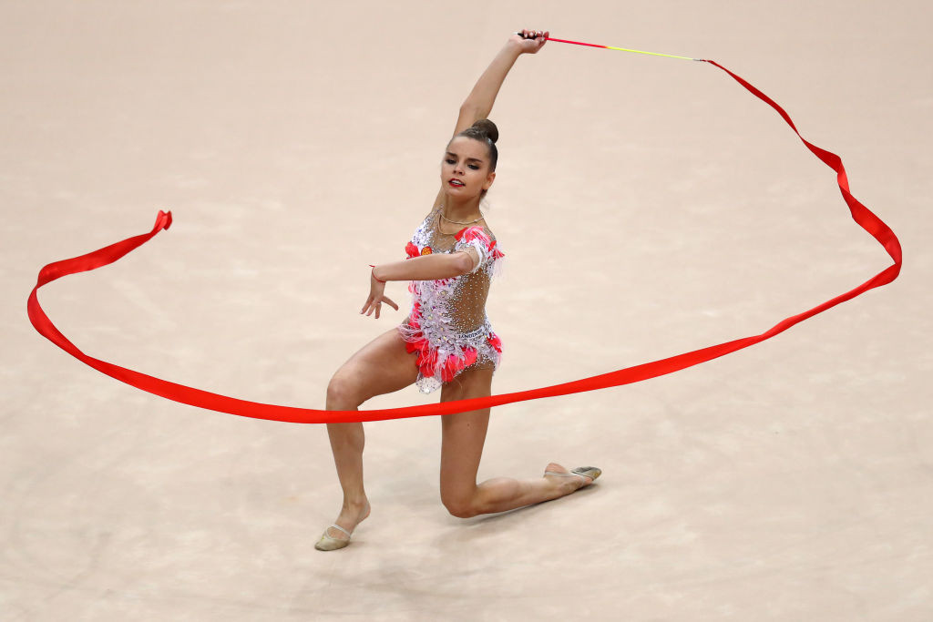 Russia's three-times all-around world champion Dina Averina will make her first appearance in this season's FIG Rhythmic Gymnastics World Cup at Tashkent ©Getty Images