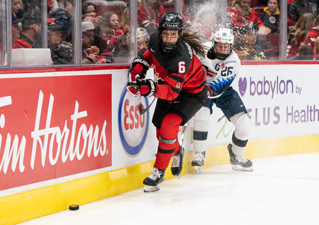 Canada steps up IIHF Women's World Championship preparations with selection camp