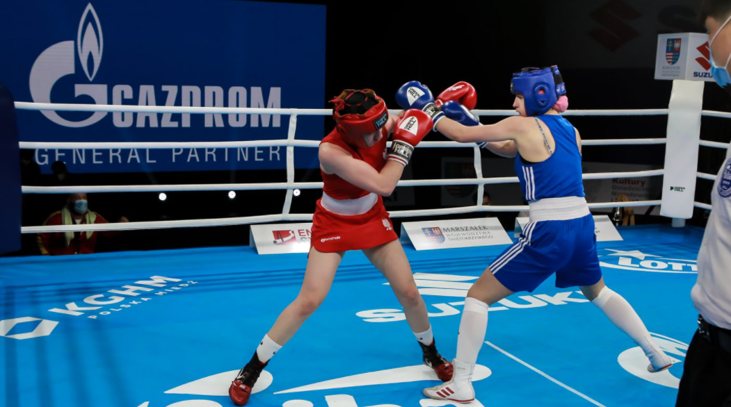 Home nation Poland have started strongly in women's boxing at the AIBA Youth World Championships in the Polish city of Kielce ©AIBA