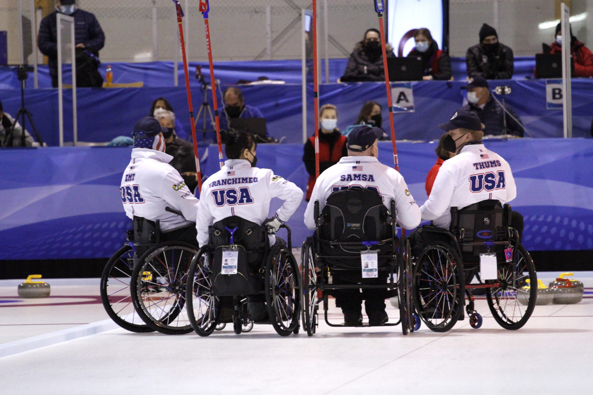 US beat Switzerland in World Wheelchair-B Curling Championship final