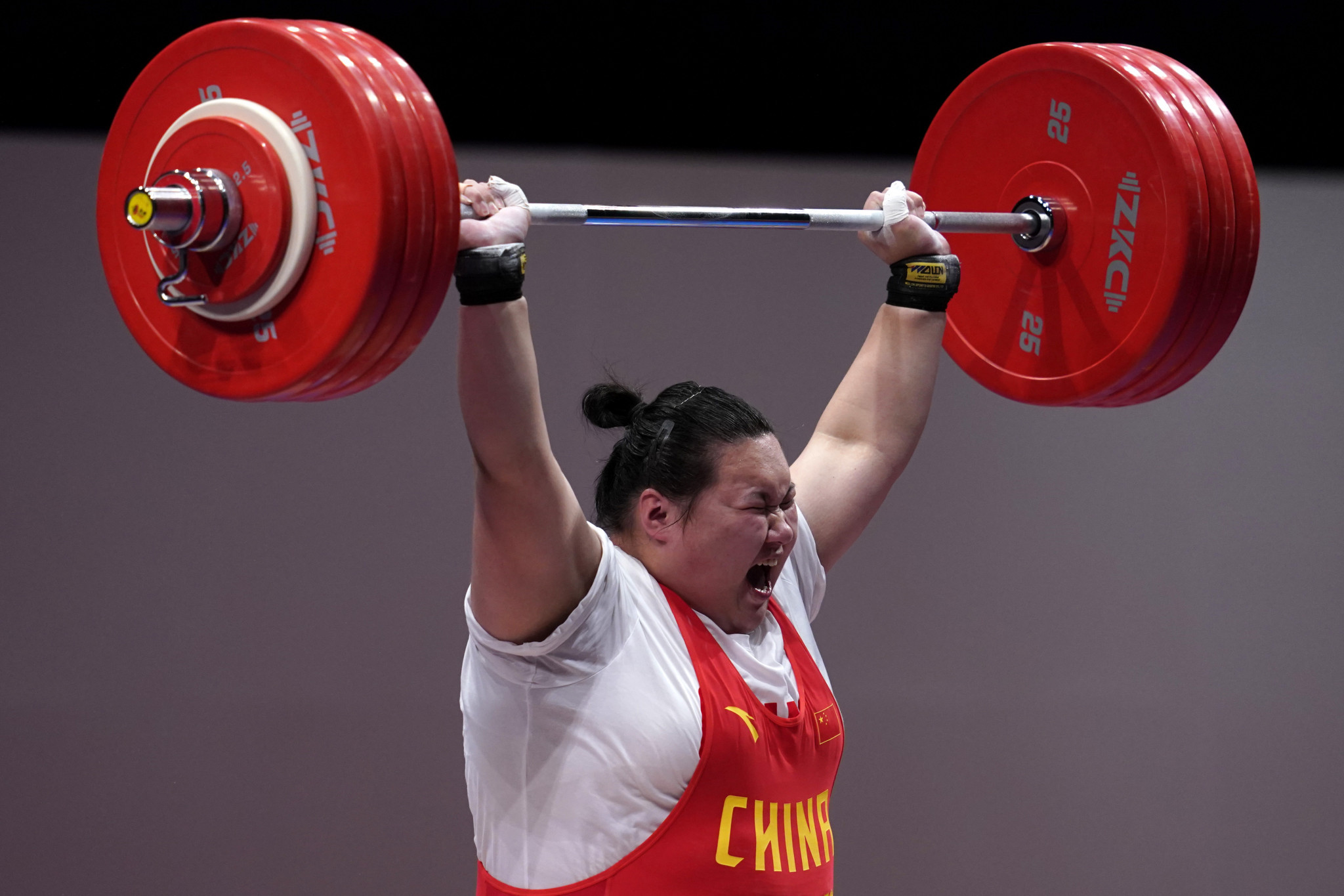 World champion Li Wenwen is one of the stars of a full-strength Chinese team ©Getty Images