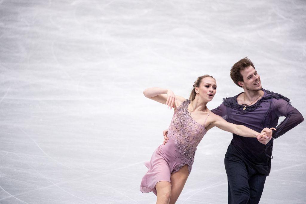 World ice dance champions Viktoria Sinitsina and Nikita Katsalapov topped the standings to earn Russia the maximum 12 points ©Getty Images