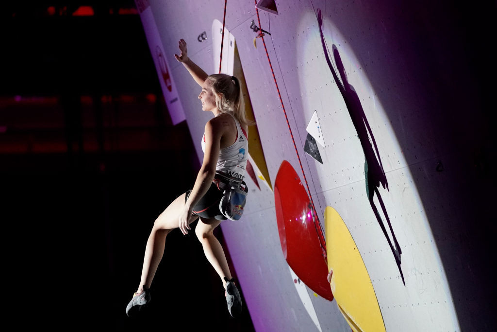 Garnbret qualifies for women's final at IFSC Bouldering World Cup