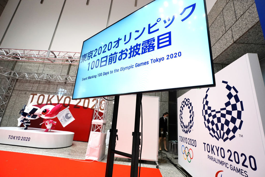 Organisers this week marked 100 days to go until the scheduled opening of the rearranged Tokyo 2020 Olympic Games ©Getty Images