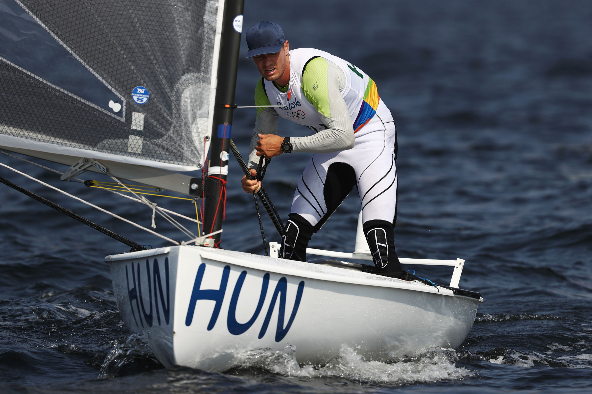 Hungary's Zsombor Berecz was a clear winner of the Finn European title in Vilamoura today ©Getty Images