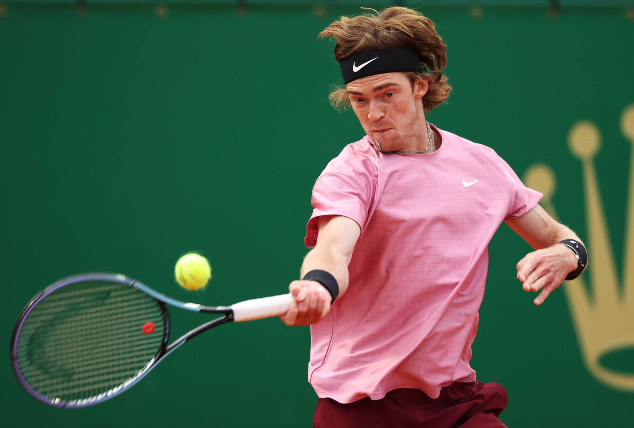 Andrey Rublev is set to face Casper Ruud in the semi-finals of the Monte-Carlo Masters after overcoming Rafael Nadal ©Getty Images