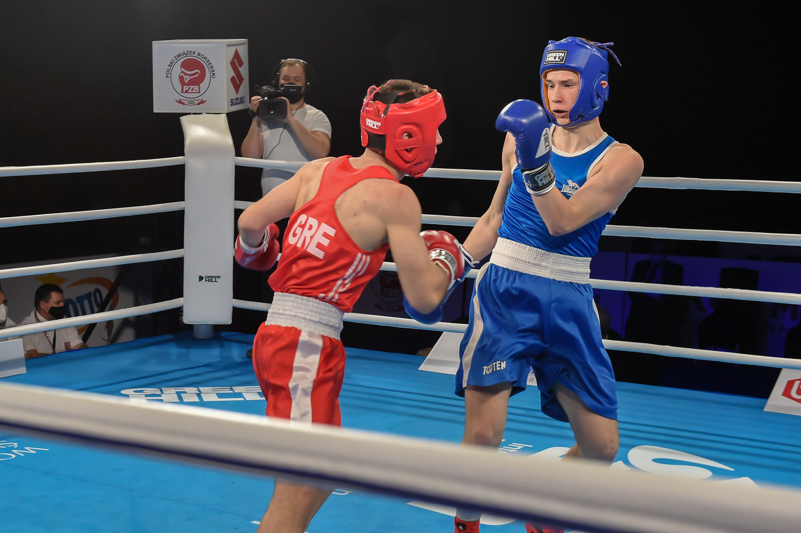 Preliminary round action continued on the fourth day of the AIBA Youth World Boxing Championships in Kielce ©AIBA
