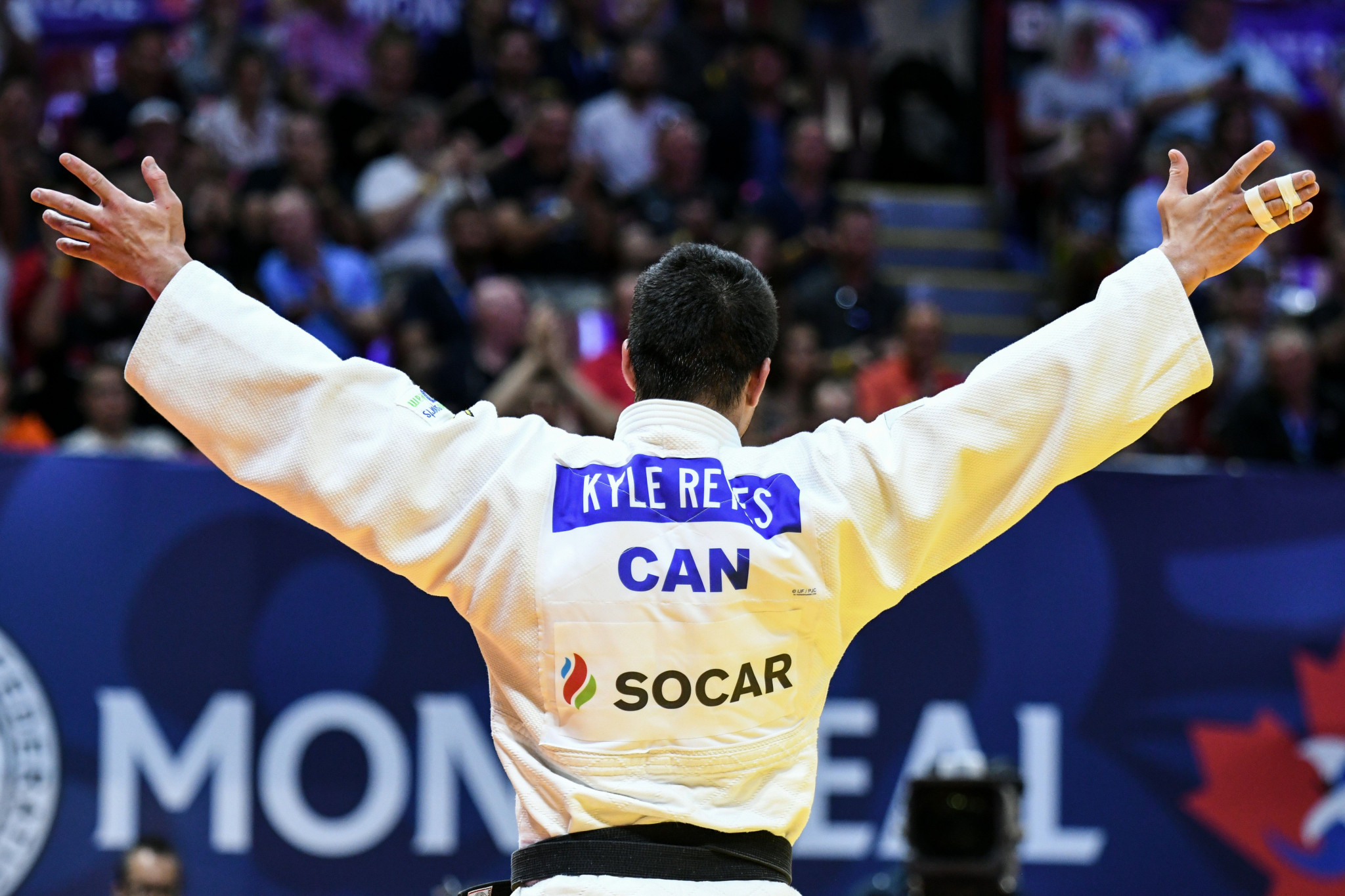 Kyle Reyes gave Canada the country's only gold medal of the Pan American Judo Championships ©Getty Images