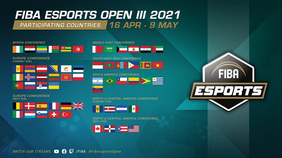 Third edition of FIBA Esports Open underway with 60 nations involved