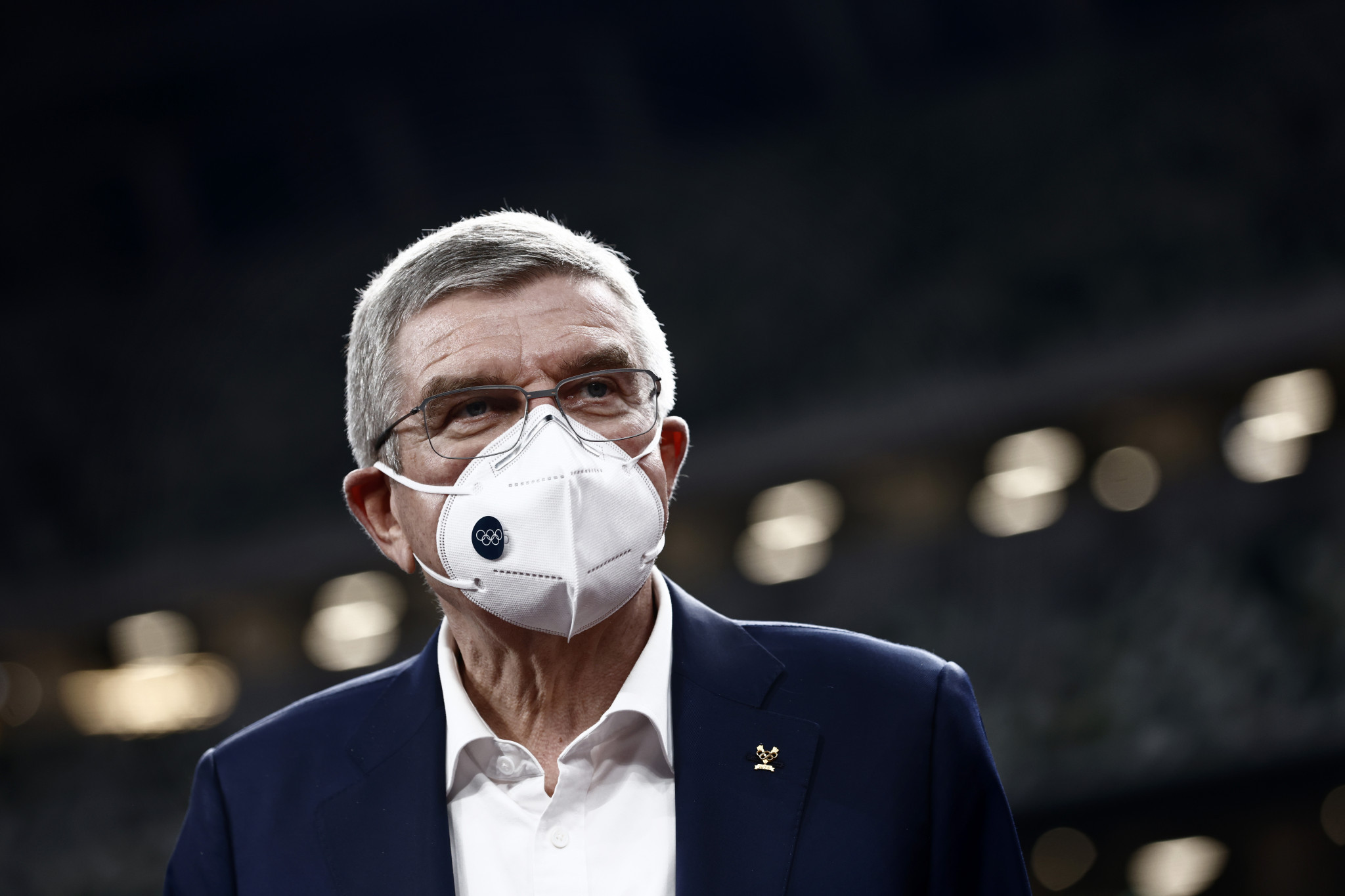 Thomas Bach is expected to return to Japan in May ©Getty Images