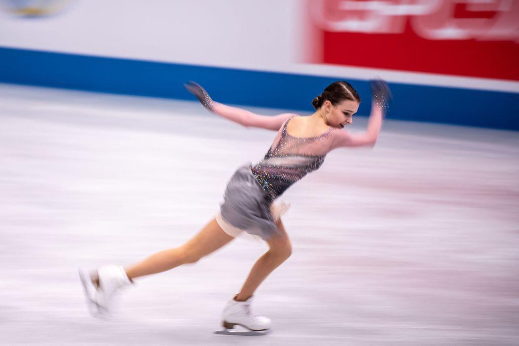 Anna Sherpakova protagonizó la relajante victoria de Rusia en Osaka © Getty Images