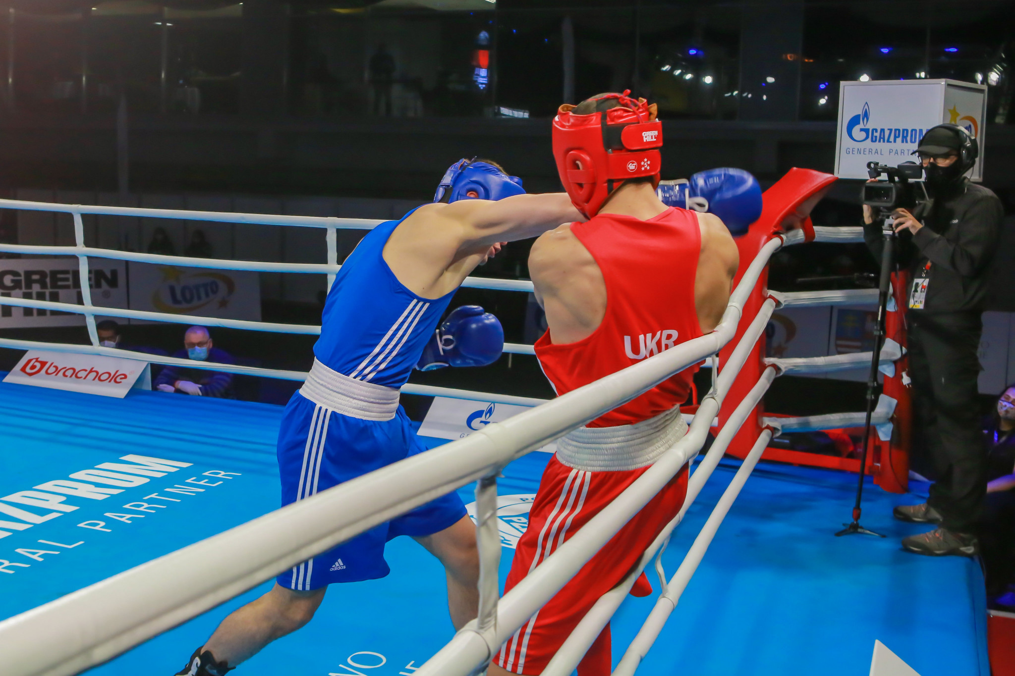 The fifth day of action saw plenty of exciting bouts take place across two rings in Kielce ©AIBA