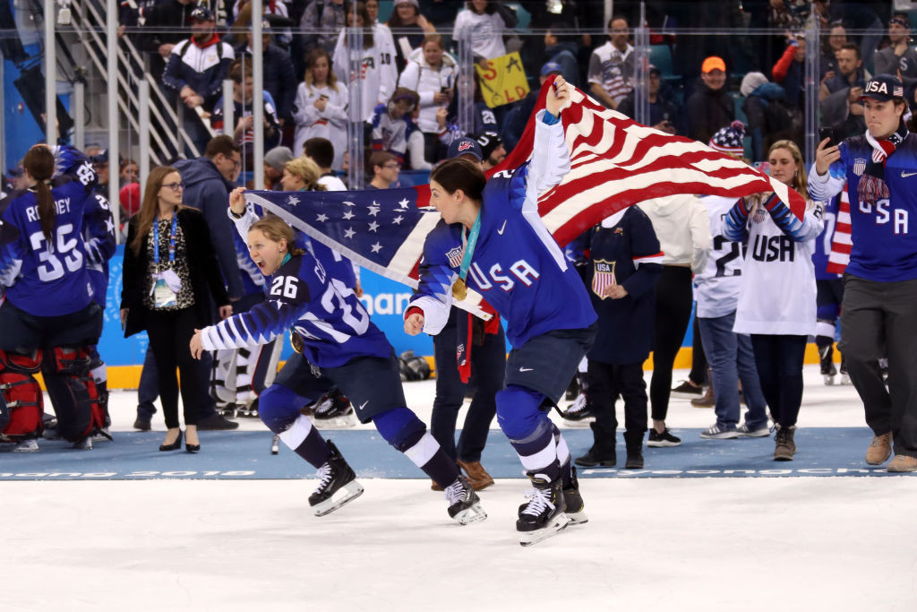 The US women's ice hockey team will defend their world title in Canada next month under new interim head coach Joel Johnson ©Getty Images
