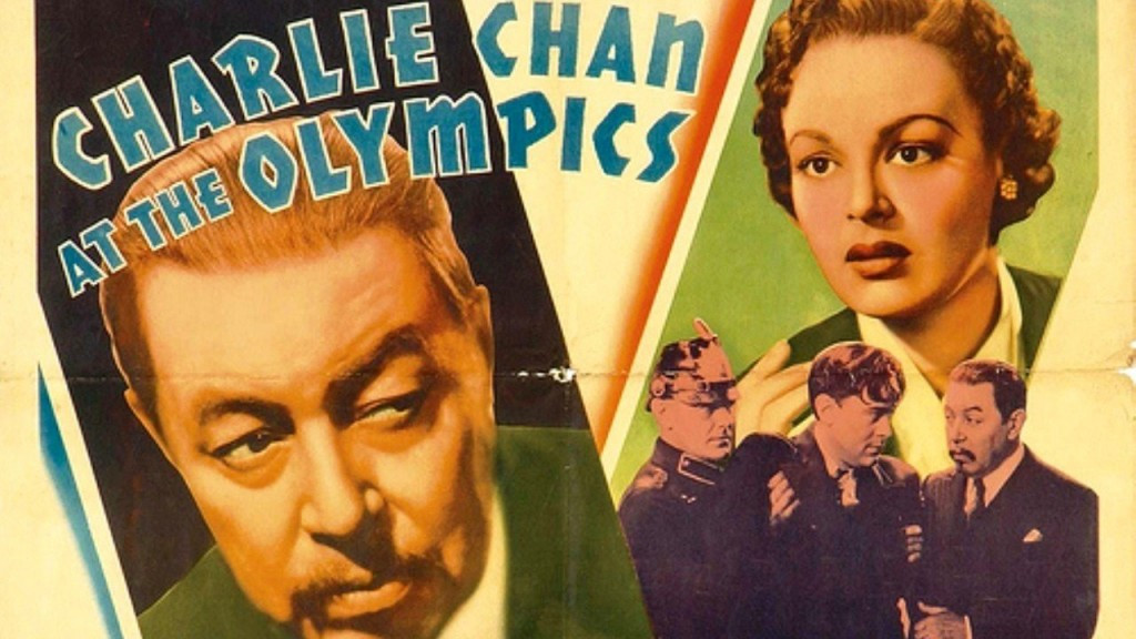 Charlie Chan at the Olympics is one of several movies made by Hollywood set against the backdrop of Berlin 1936 ©20th Century Fox