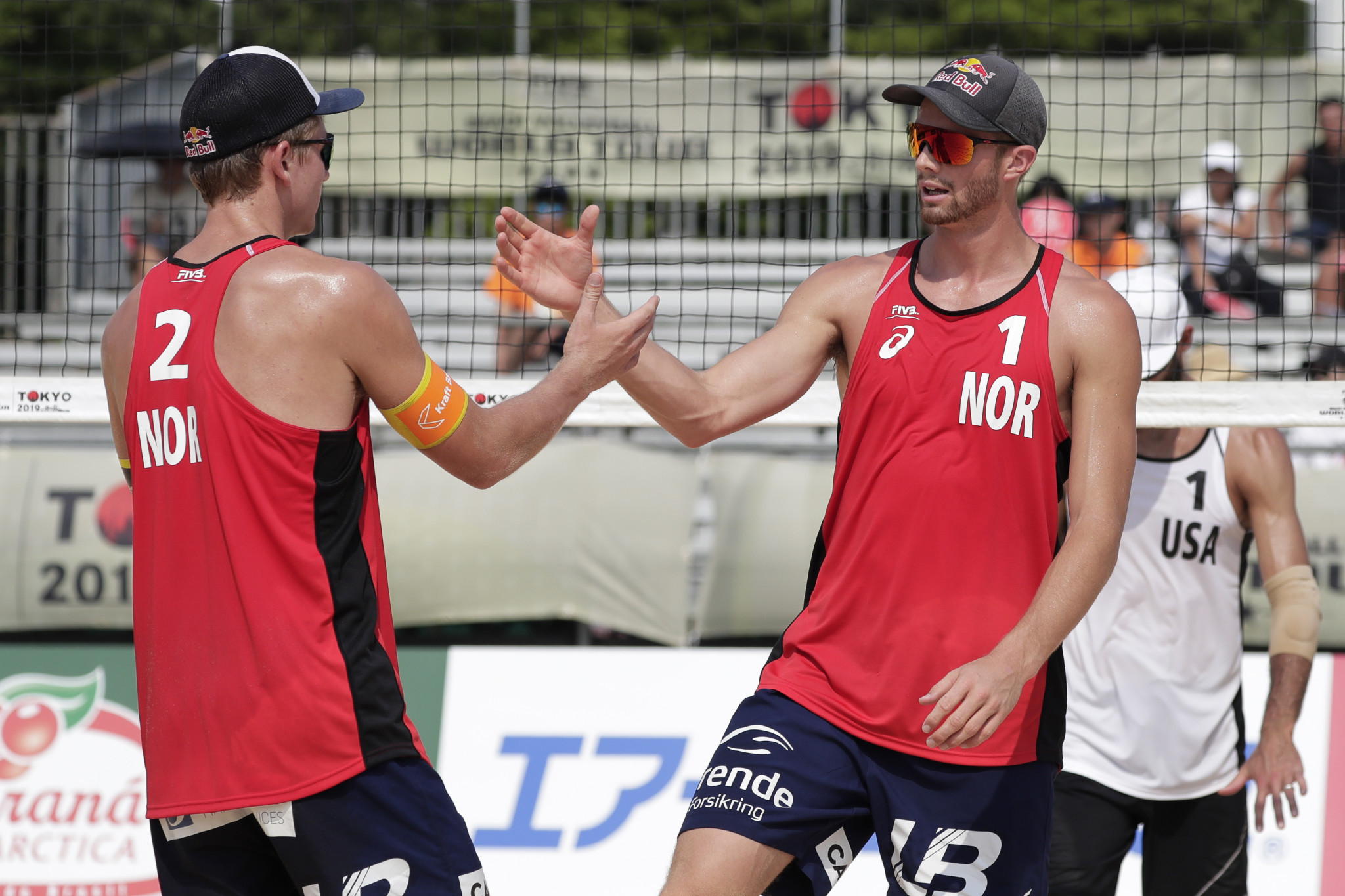 Mol and Sørum win Cancun opener in first FIVB World Tour match together in 18 months