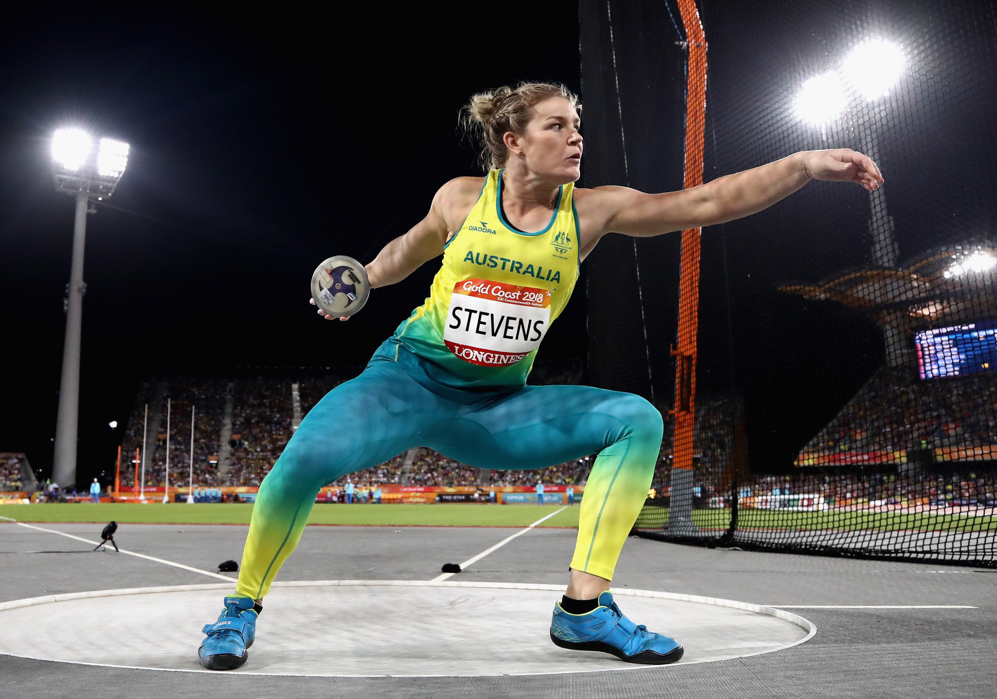 Dani Stevens is set to feature at the Olympics for a fourth time ©Getty Images