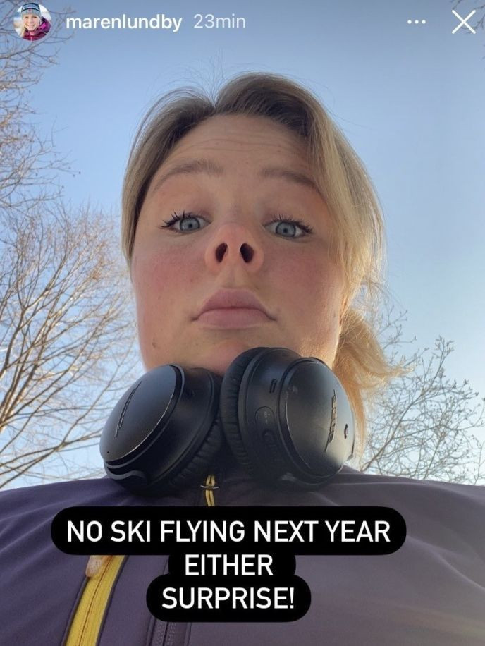 Norway's Olympic ski jump champion Maren Lundby described the decision by the FIS World Cup Committee not to allow women's ski flying events as