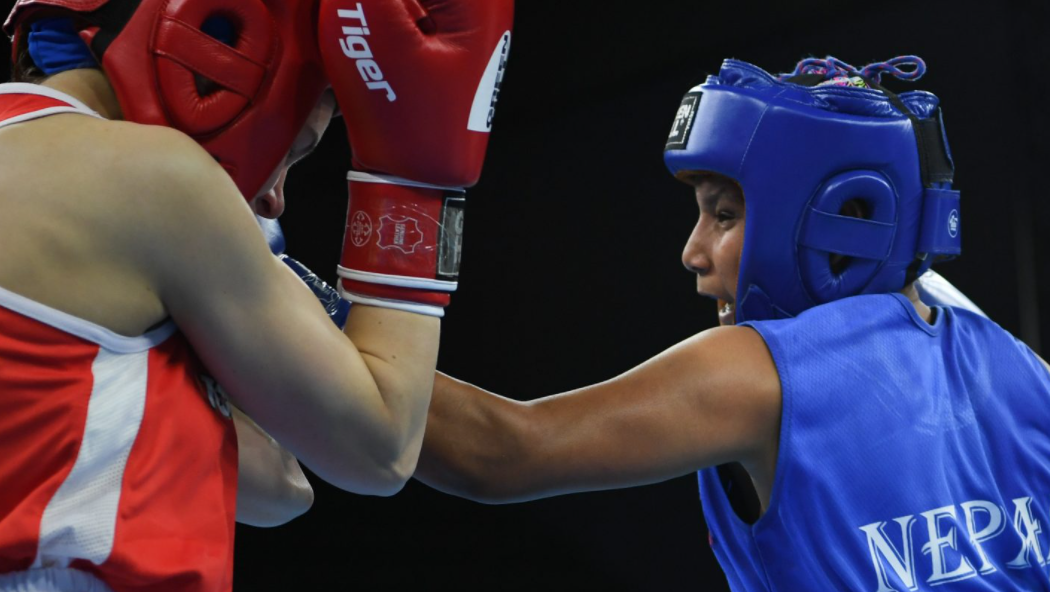 Tamang the pride of Nepal after historic first win for her country at AIBA Youth World Championships