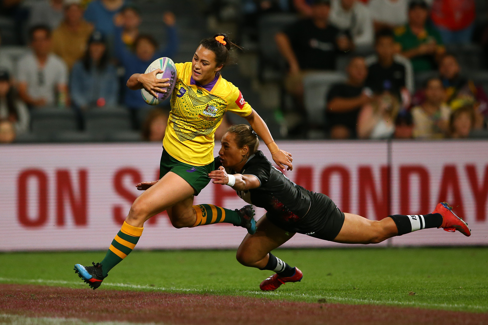 Rugby league nines has featured on the programme at the past two Pacific Games ©Getty Images